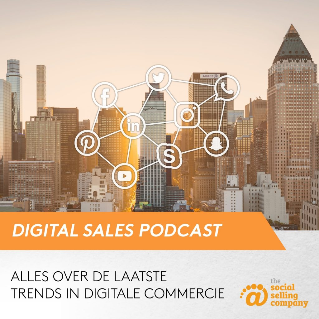 Digital Sales Podcast afbeelding
